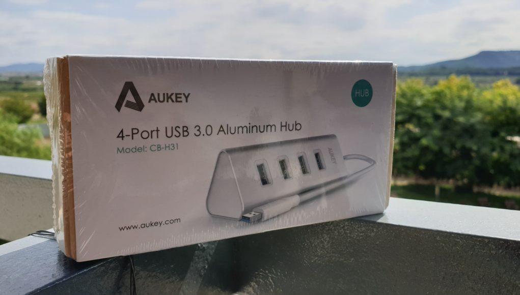 4-port USB 3.0Aluminium HUB