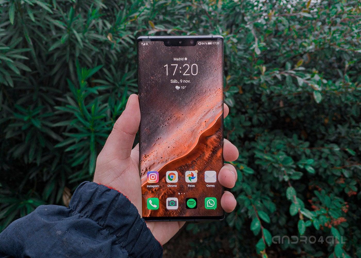 Huawei Mate 30 pro launcher