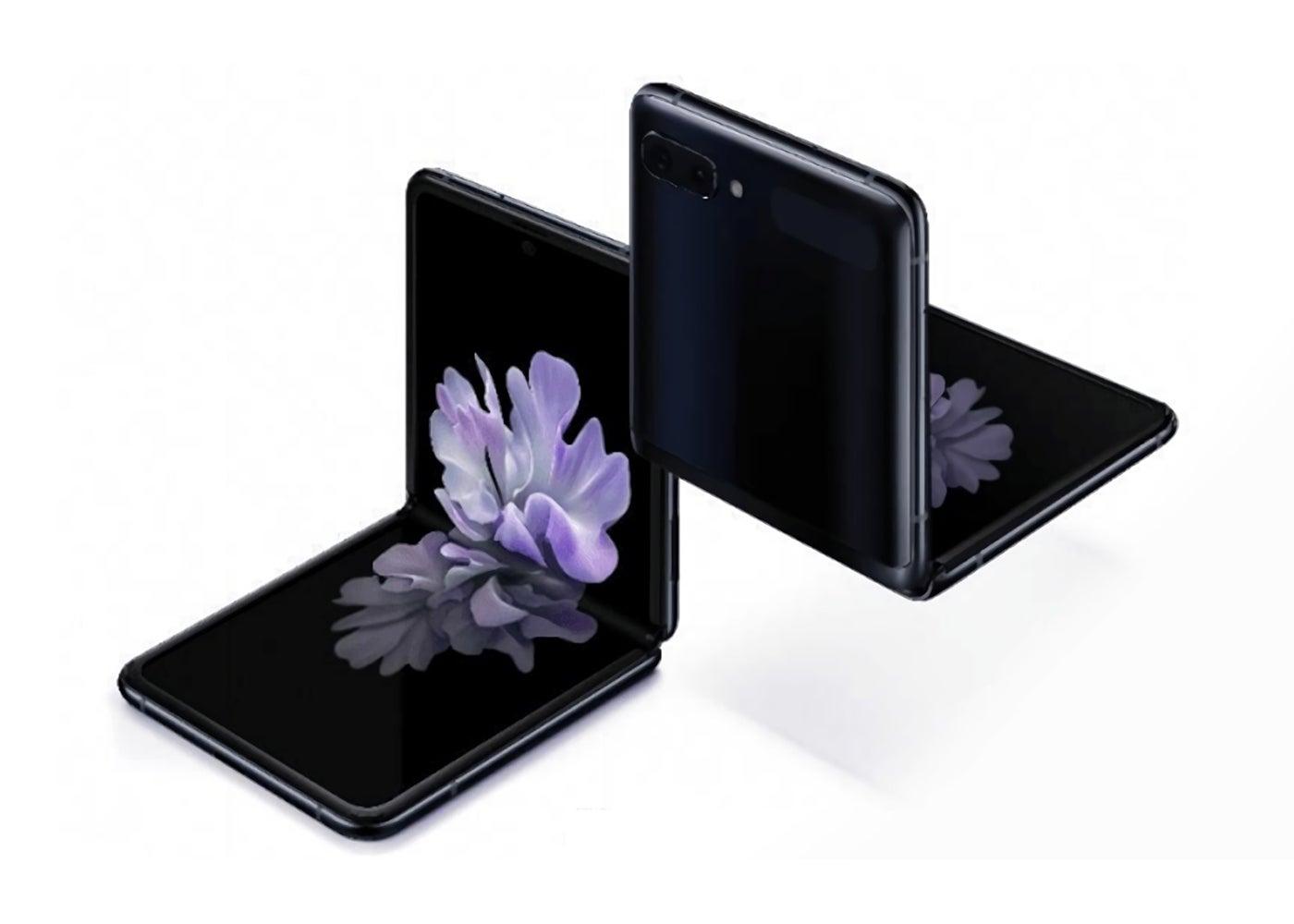 Samsung GGalaxy Z Flip en color negro