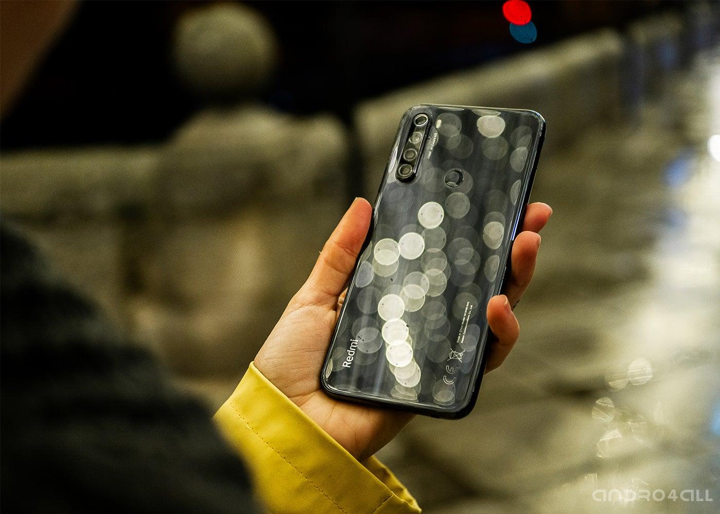 Xiaomi Redmi NOte 8T, trasera gris